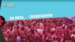 #102 Radboud Rocks - Crowdsurfen bij Ronnie Flex