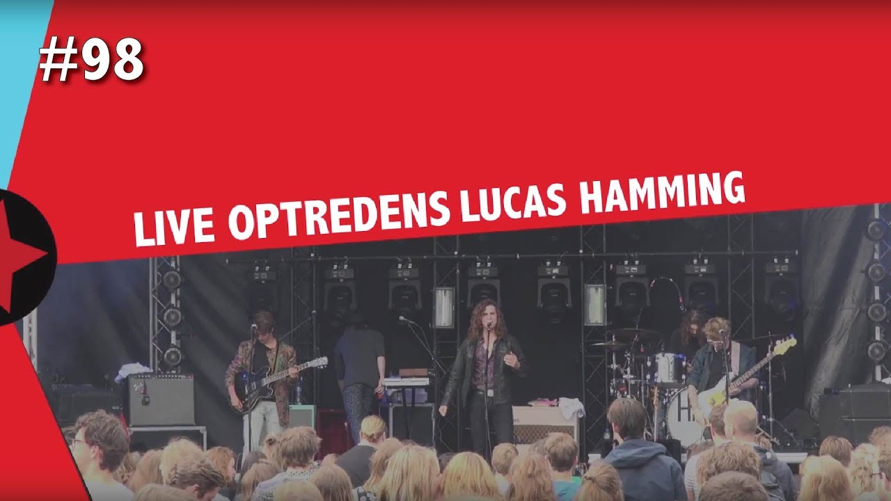 #98 Radboud Rocks - Live optreden Lucas Hamming