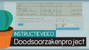 Instructievideo - Doodsoorzakenproject