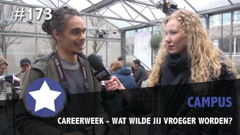 #173 – Careerweek, wat wilde jij vroeger worden?