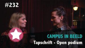#232  Tapschrift – Open podium