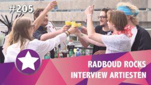 #205 - Radboud Rocks 2018 - Interviews artiesten