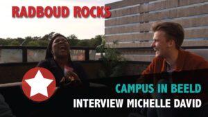 Radboud Rocks 2019 – Interview Michelle David